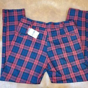 Brand New Men's Forever 21 Plaid Pants